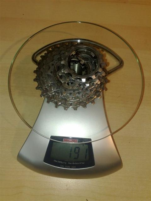 Campagnolo - Kassette Record 12-25 - 191g