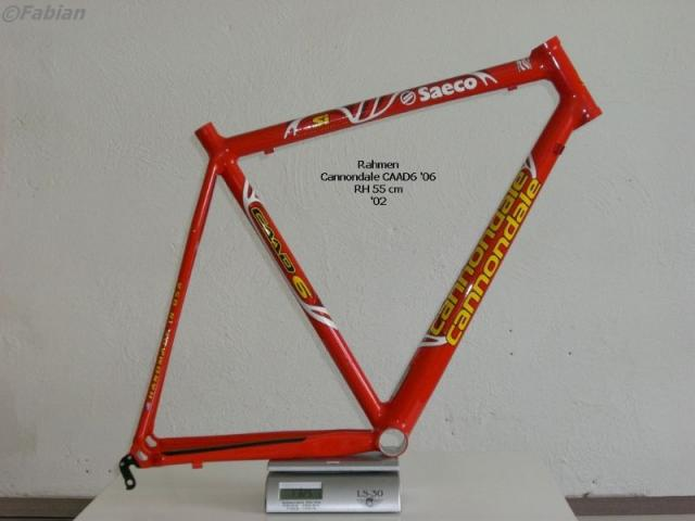 Cannondale CAAD6  RH 55