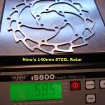 Nino´s 140mm Steel Rotor