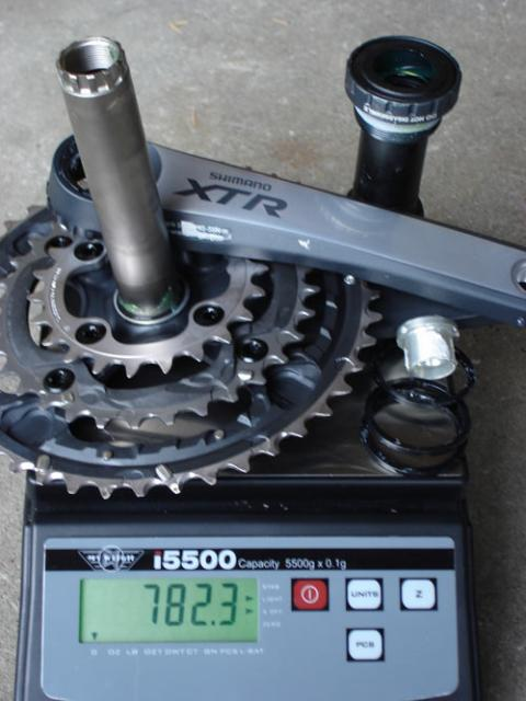 Shimano XTR 2007 inkl. Lager