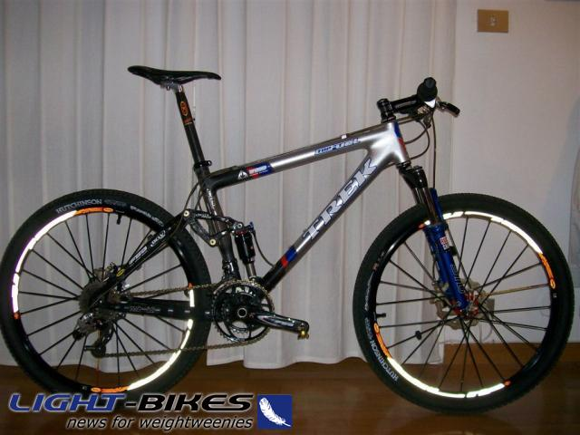 09,8 kg - Trek Top Fuel 110