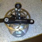 Sram Force Compact  172,5mm inkl. Lager