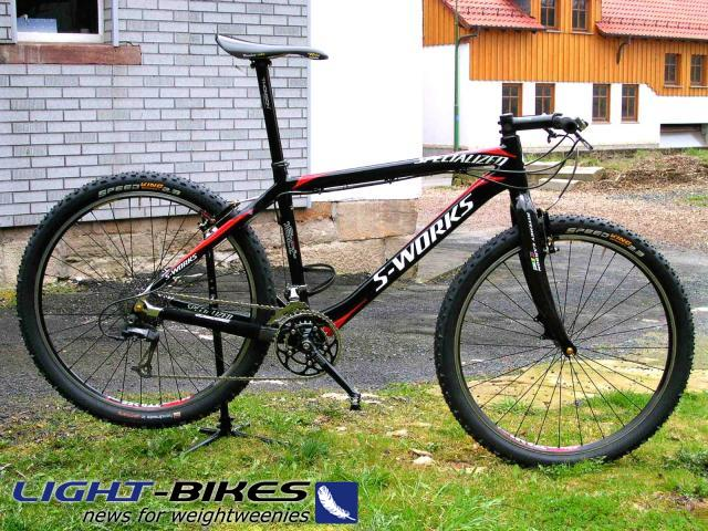 07,09 kg - Spezialized S Works Carbon
